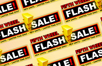 Fifth Wheel Flash Sale